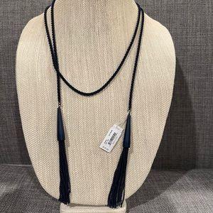 NWT Kendra Scott Phara Navy Necklace $125